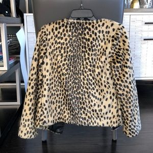 Kristen Blake Jackets & Coats - Leopard Jacket Size XS